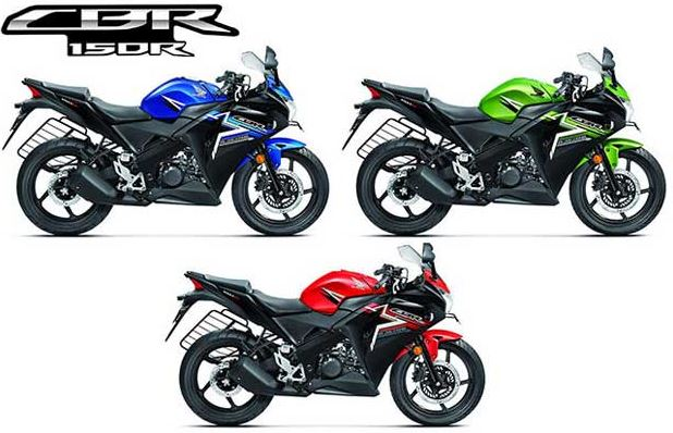 Honda CBR 150R colors
