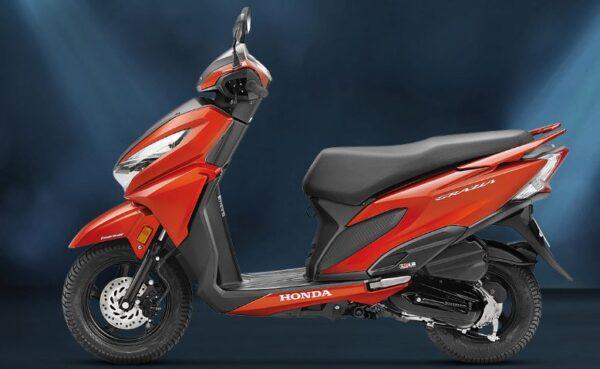 Honda Grazia Scooter color 1