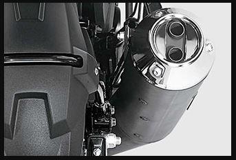 Honda X blade DUAL OUTLET MUFFLER