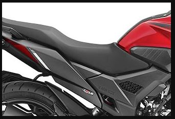 Honda X blade long seat