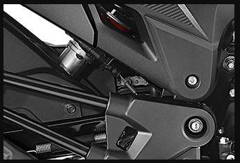 Honda X blade suspension