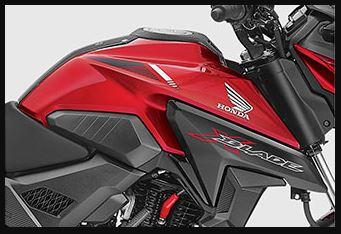 Honda X blade tank design