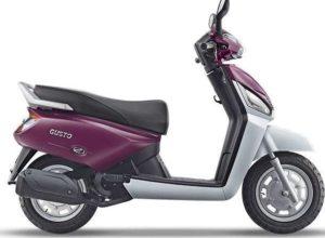 Mahindra Gusto VX scooter mileage