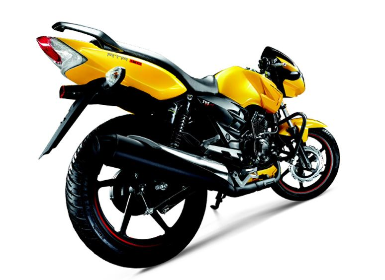 TVS Apache RTR 160 on road price list