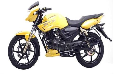 TVS Apache RTR 160 colors
