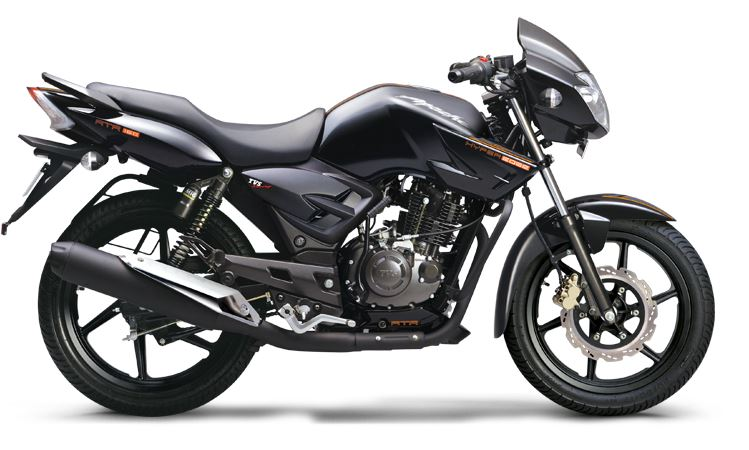TVS Apache RTR 160 down payment