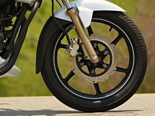 TVS Apache RTR 160 bike brakes