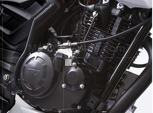 TVS Apache RTR 160 bike engine