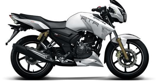 TVS Apache RTR 180 abs down payment