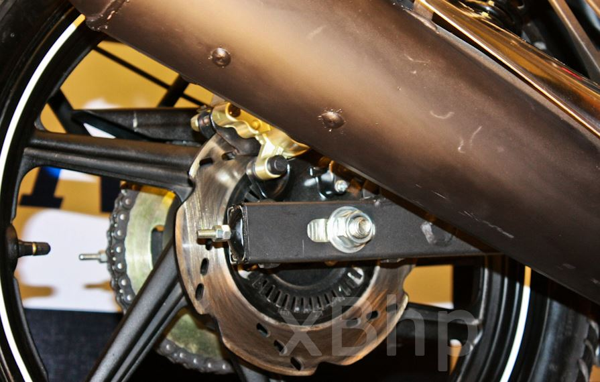 TVS Apache RTR 180 abs brakes