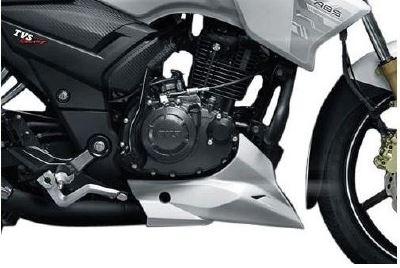 TVS Apache RTR 180 abs engine