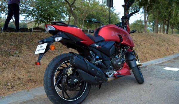 TVS Apache RTR 200 4V mileage