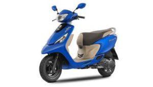 TVS Scooty Zest 110 scooter mileage