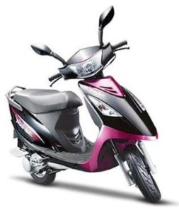 TVS Streak scooter mileage
