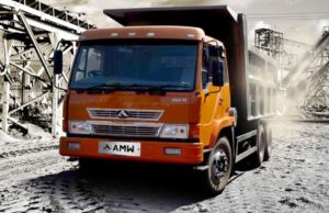 AMW 2523 TP box body Tipper Price in India