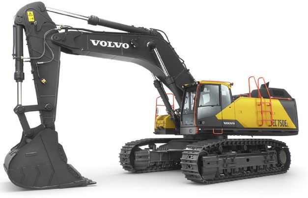 Crawler Excavator Road Construction Equipment