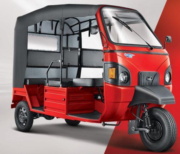 Mahindra E-alfa Mini Electric Rickshaw features