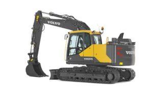 Volvo EC140E crawler excavator