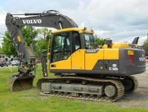 Volvo Construction Equipment Price List in India