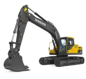 Volvo EC220DCrawler excavator