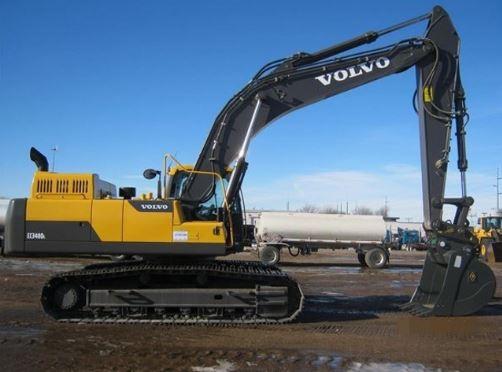 Volvo EC340DCrawler excavator