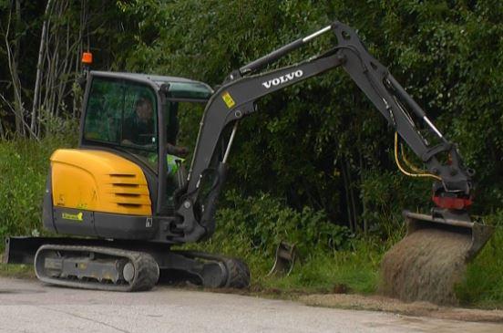 Volvo EC35C Mini excavator