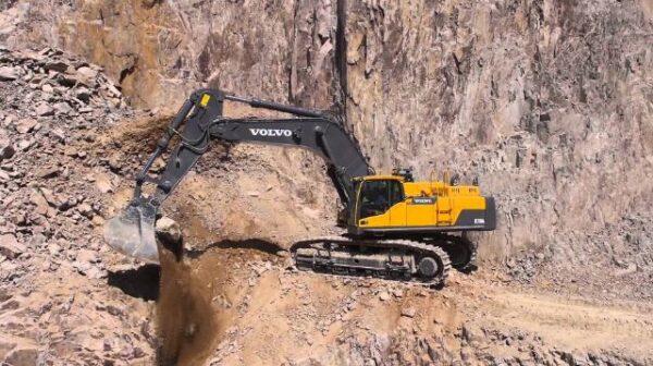 Volvo EC750Dexcavator