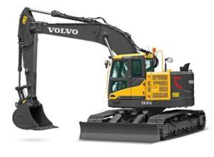 Volvo ECR145Dexcavator