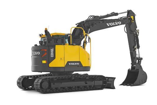 Volvo ECR145E medium excavator