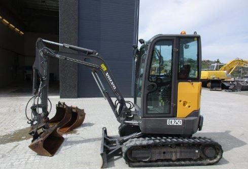 Volvo ECR25D Miniexcavator