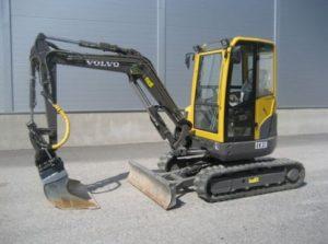 Volvo ECR38 miniexcavator