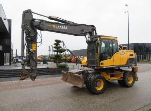 Volvo EW180DWheeled excavator