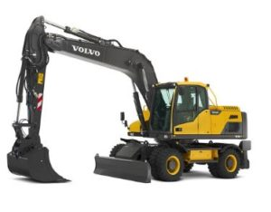 Volvo EW210DWheeled excavator