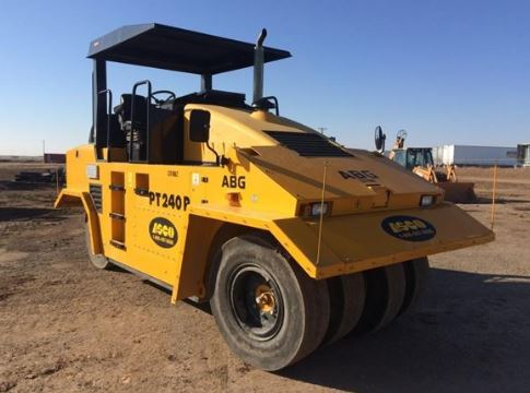 Volvo PT240R Pneumatic tired rollers
