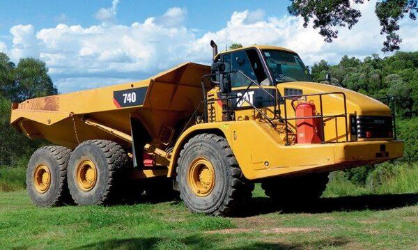 CAT 740 Articulated Dump Truck Key Facts