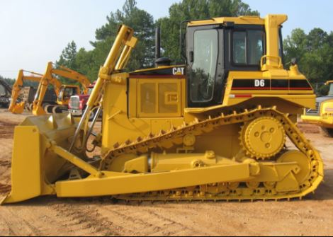 Caterpillar D6 Dozer Specifications
