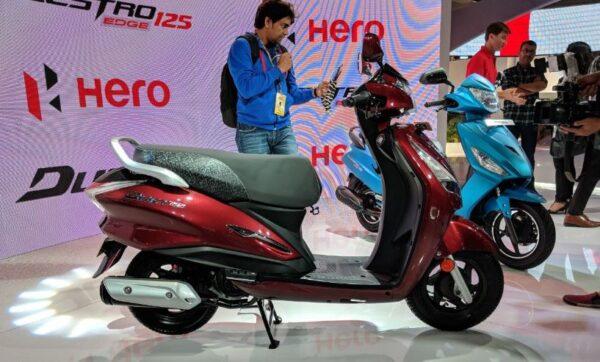 Hero Maestro Edge 125 Scooter Colors