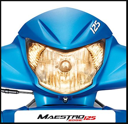 Hero Maestro Edge 125 scooter head light