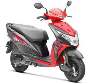 Honda Dio deluxe Scooter Mileage