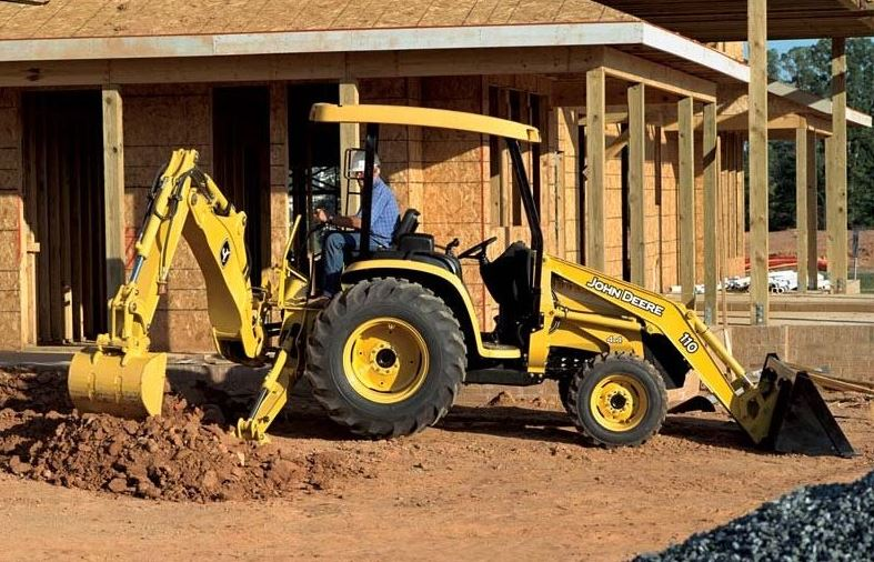 John Deere 110 Backhoe Price