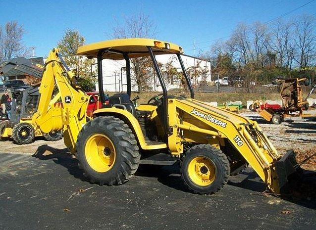John Deere 110 Backhoe Specifications