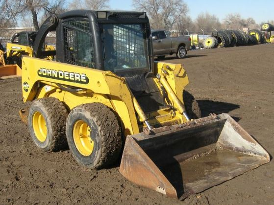 John Deere 250 Skid Steer Price