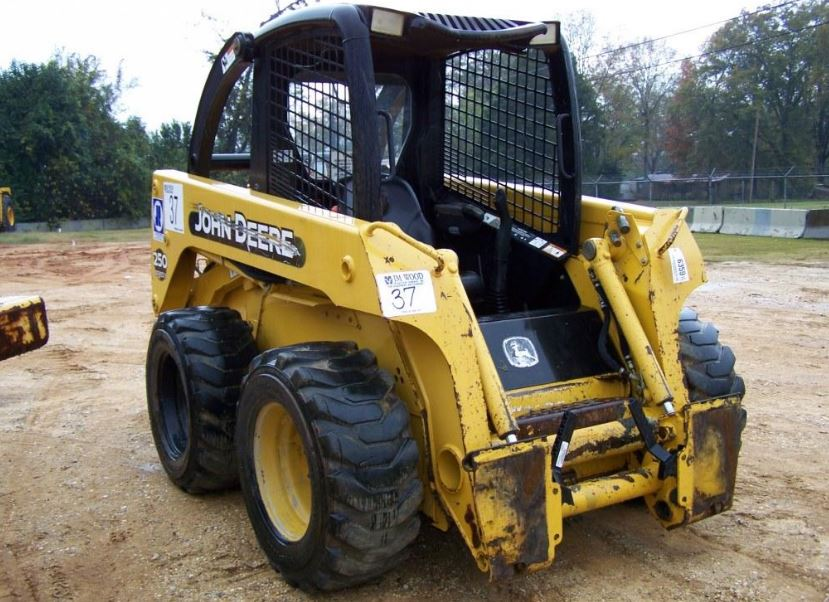 John Deere 250 Skid Steer Specifications
