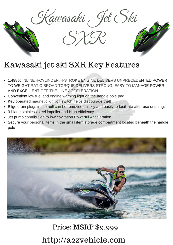 Kawasaki Jet Ski SXR