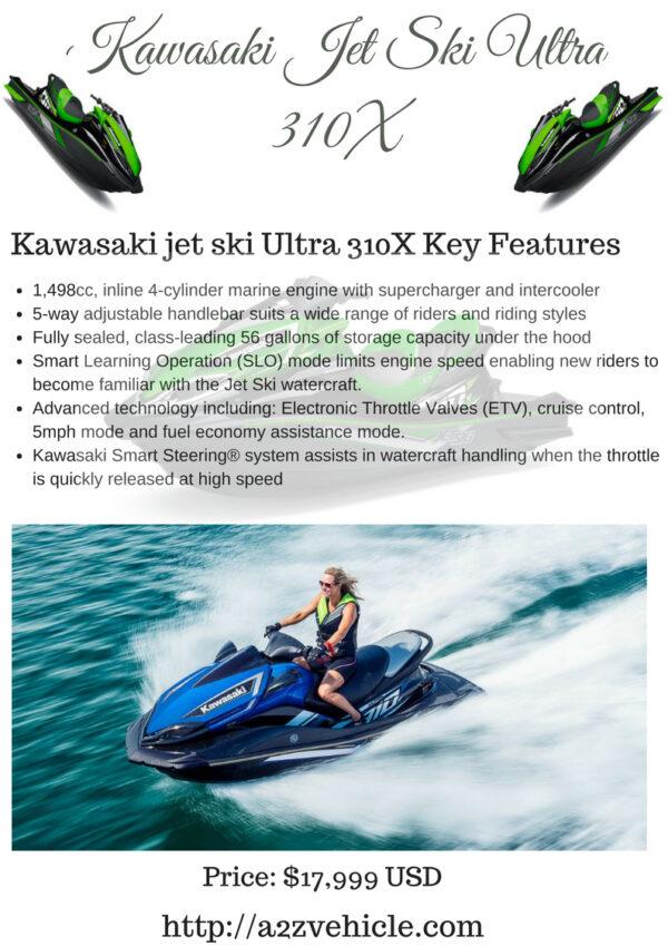 Kawasaki Jet Ski Ultra 310X