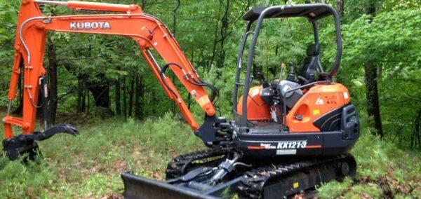 Kubota kx121-3 Mini Excavator Specifications