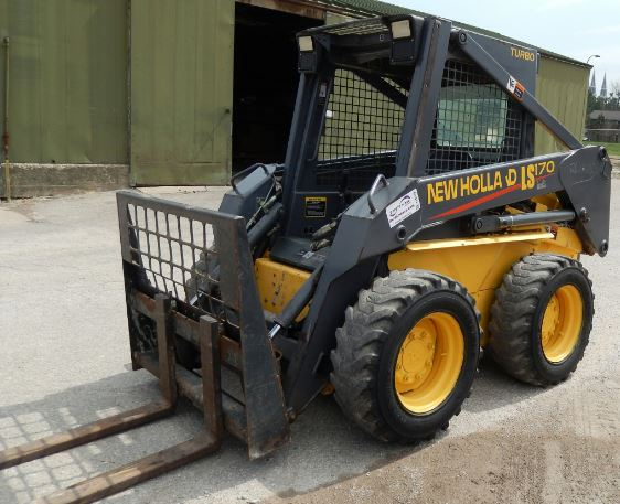 New Holland LS170 Skid Steer Loader Key Facts