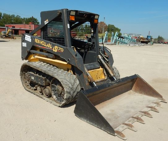 New Holland LS170 Skid Steer Loader Specifications