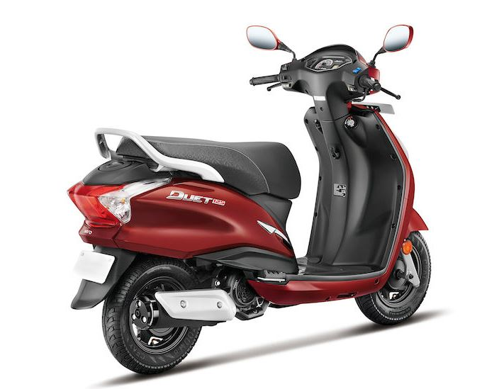hero duet 125cc on road price