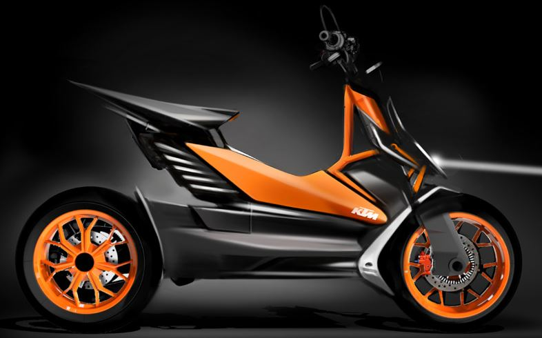ktm scooter specification
